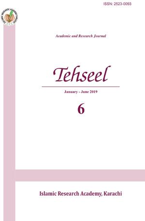 View No. 06 (2020): Tehseel